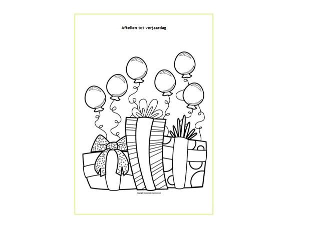Aftellen - - Creatief en Simpel - Download gratis op onze site