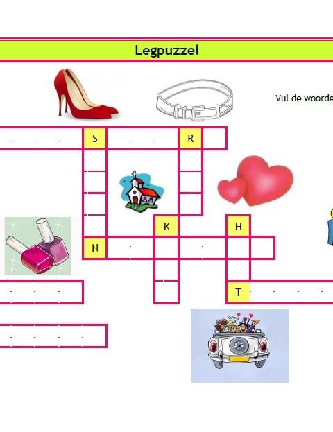 Puzzels Bruiloft - Creatief en Simpel - Download gratis op onze site