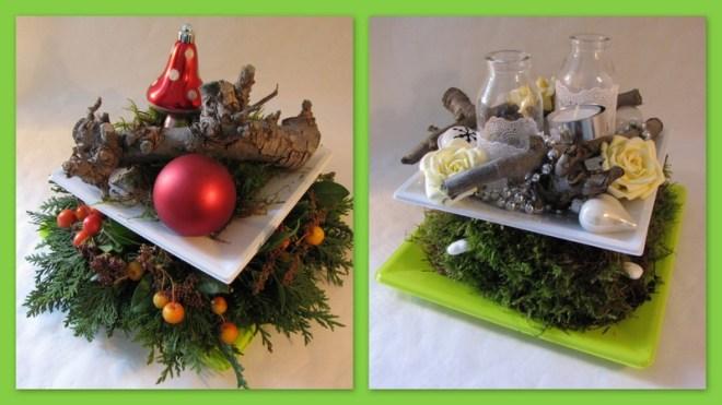 Kerststuk op etagere - Creatief en Simpel - Download de gratis werkbeschrijving op onze site