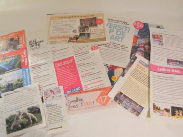 Leuke dingen doosje inhoud - knipsels uit tijdschriften en krant