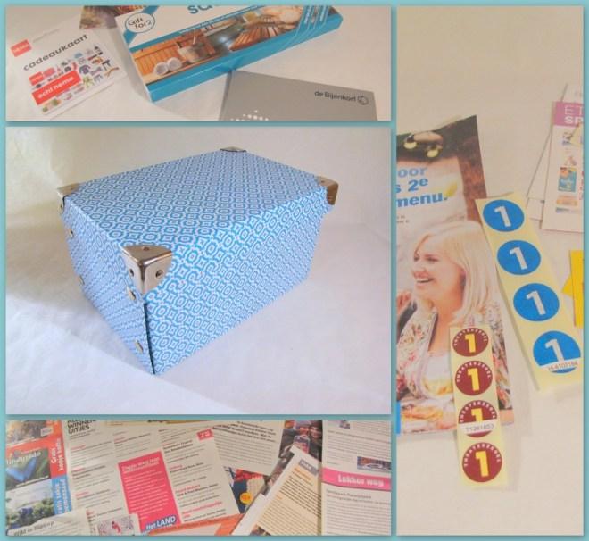 Leuke dingen doosje - Creatief en Simpel - voor meer informatie kijk op onze site