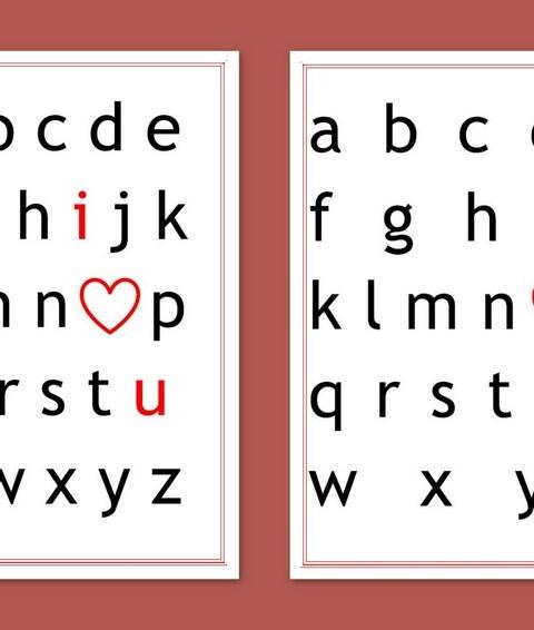 Valentijn ABC - Creatief en Simpel - Download gratis op onze site