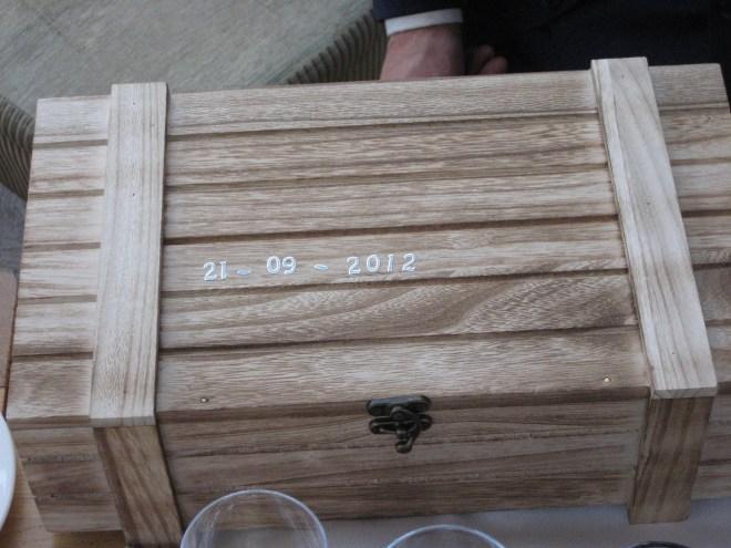 Kistje geluk, bijzonder cadeau bij een bruiloft - Creatief en Simpel - Ga naar onze site voor verdere uitleg