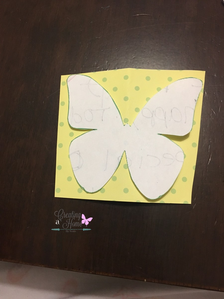 Paper Butterfly Wall Art - Creating a Home By Sonia