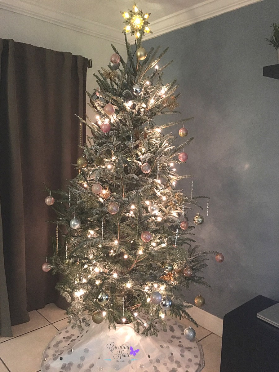 Rose Gold And Silver Christmas Tree.Rose Gold Christmas 2017 Creating A Home By Sonia