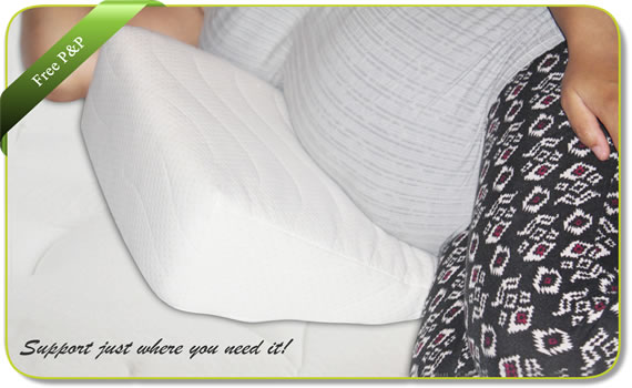 maternity support pillow wedge cushion creating comforts