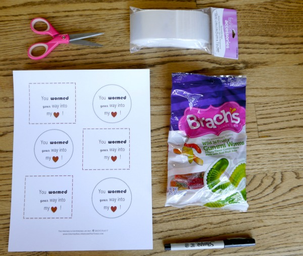 Free Printable Valentines Day Card for kids