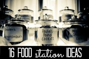 food stations CRAFT
