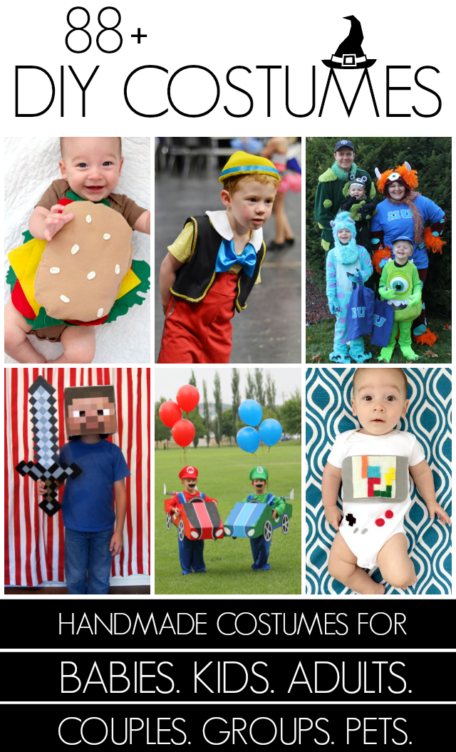 101+ Handmade Halloween costumes at Creating Really Awesome Free Things
