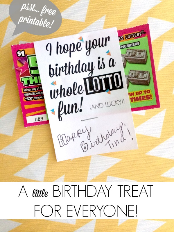 101 DIY Birthday Gifts Free Printable CRAFT