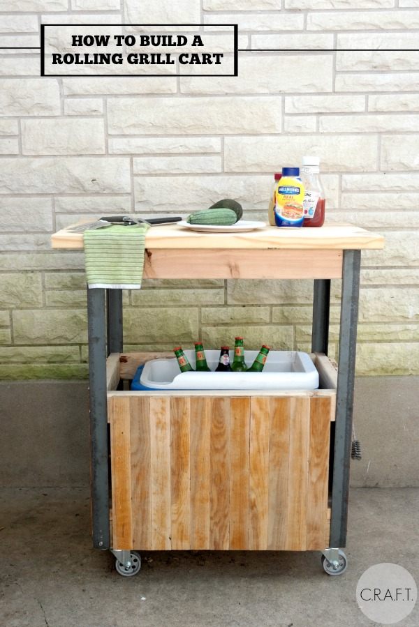 How To Build A DIY Grill Cart CRAFT