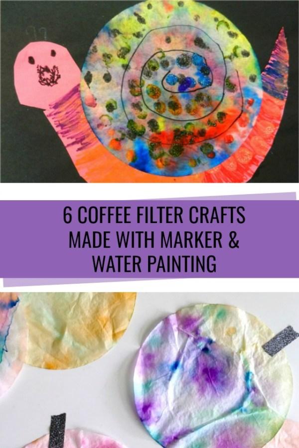 Coffee Filter Crafts - C.R.A.F.T.