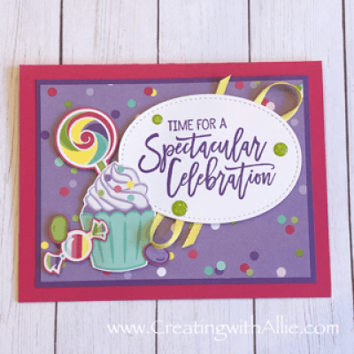 Learn how to do handmade birthday cards using Stampin' Up! products! #birthdaycards #creatingwithallie #makeacardsendacard #stampingisfun #becreative