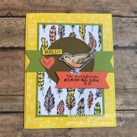 This post has excellent ideas on how to design easy cards using patterned paper