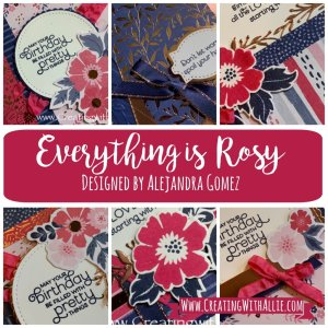 Everything is Rosy card class tutorial