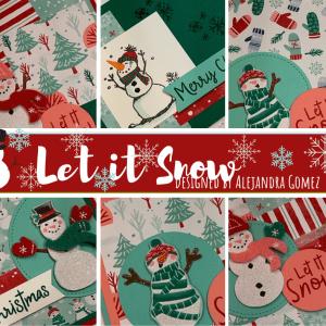 Let it Snow card class