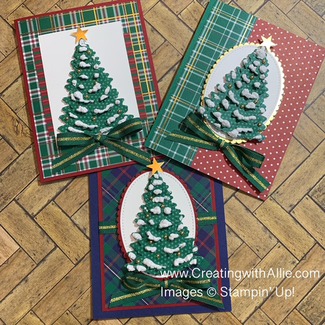 Learn how to make quick & easy Christmas cards as well as how to use the Snowfall Accents Puff Paint!