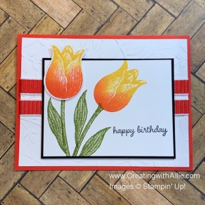 Learn how to make birthday cards using the same stamp set!