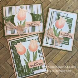 Three easy Mother's day handmade card ideas