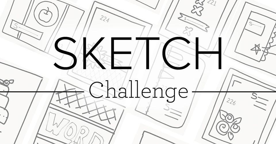 Sketch challenge banner