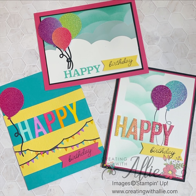 Easy Birthday Handmade Cards to make!