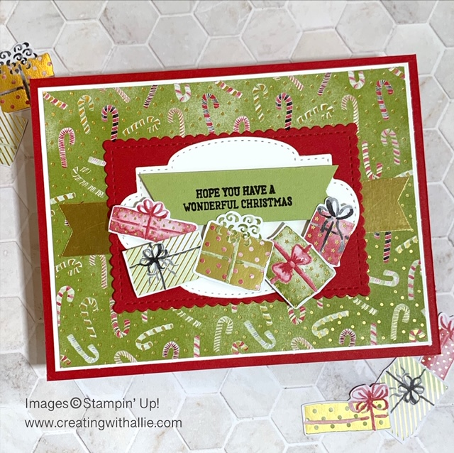Handmade Cards Using 2020 Christmas Dsp From Stampin Up Handmade Christmas Cards | Creating With Allie
