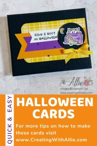 Cute Halloween cards to make