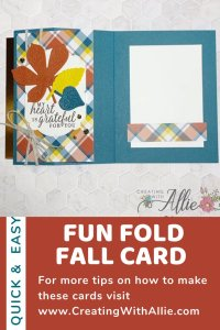 Learn how to make an Easy Fall Card for a Friend