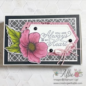 Valentine's projects using the Love You Always Suite