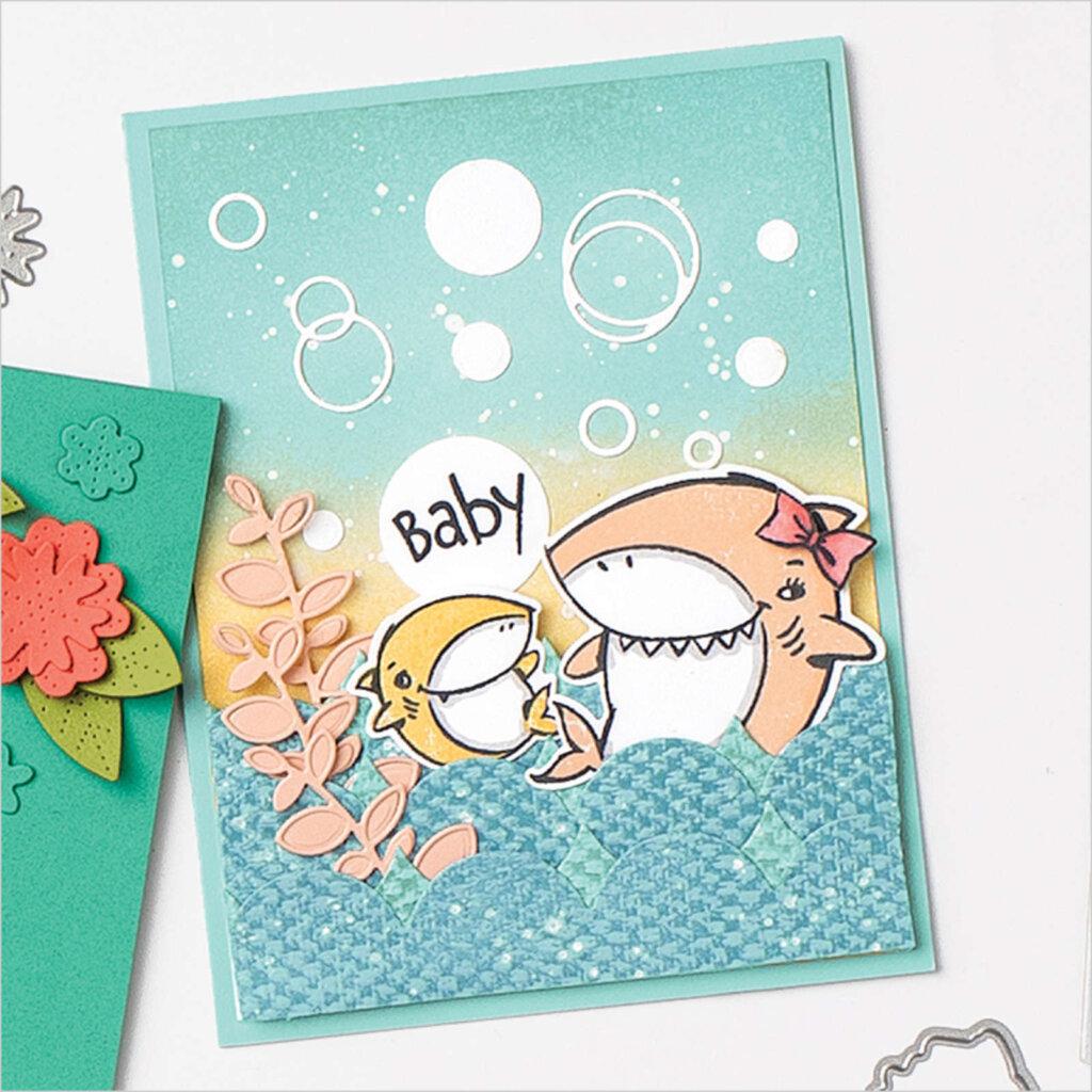 Shark Frenzy Bundle card idea