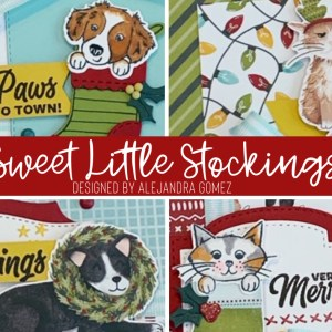 Sweet Little Stockings Card Class
