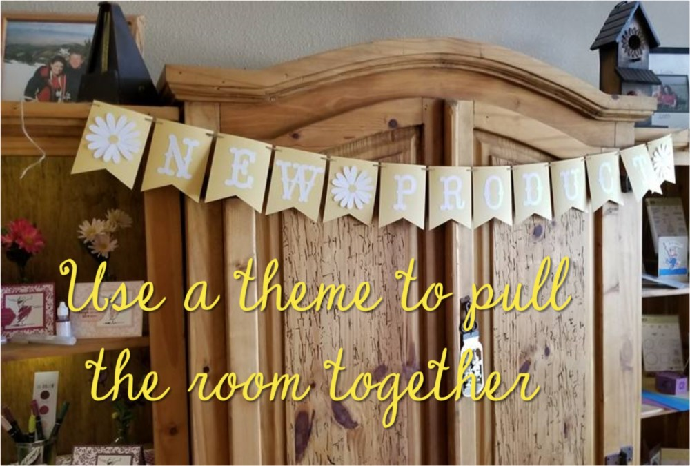 Use a theme to pull the room together