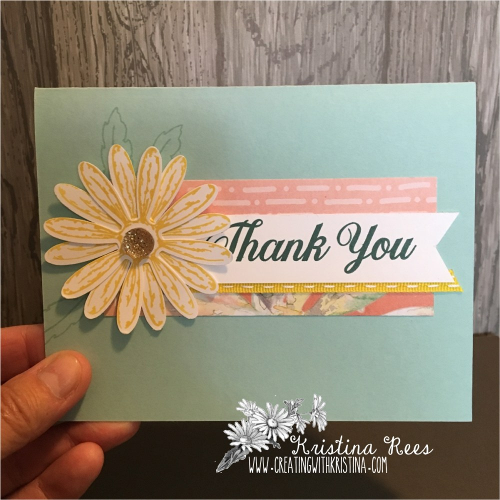 Daisy Delight Thank You Card