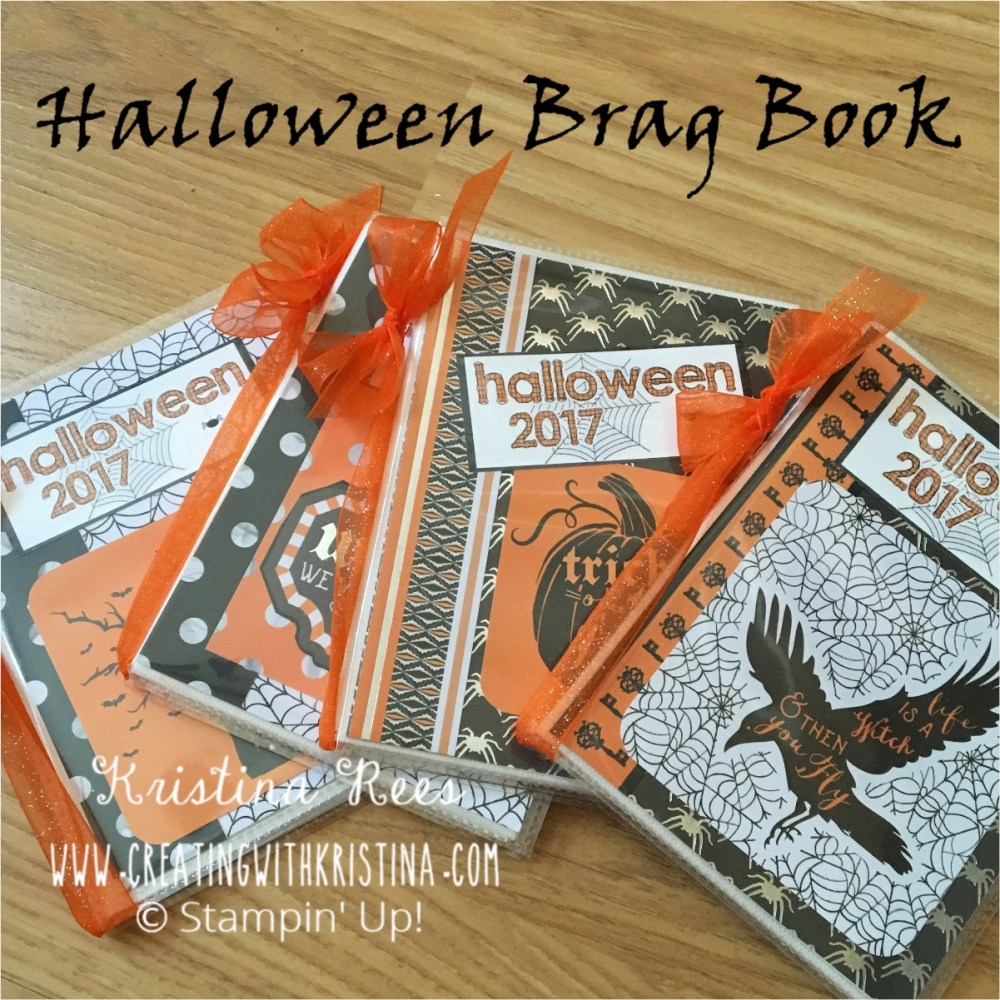 Craft Series 2017 | Halloween Brag Books – Creating with