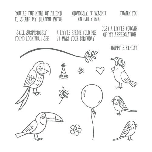 Bird Banter Stamp Set