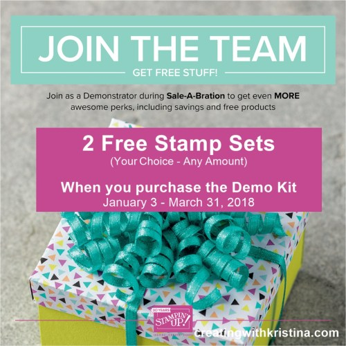 Join the team and start your own home based craft business today www.creatingwithkristina.com