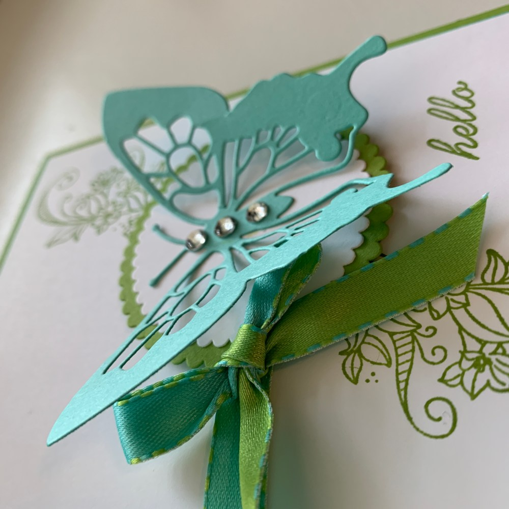 Card Sketch Tutorial #5 Using Stampin' Up! Beauty Abounds