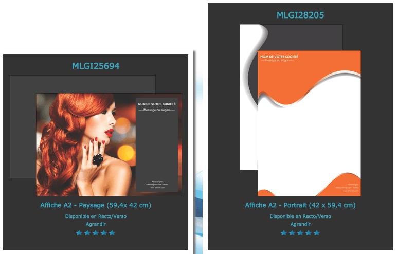 Enfin dispo ! utiliser un modèle d'affiche avec UniversDesign ?