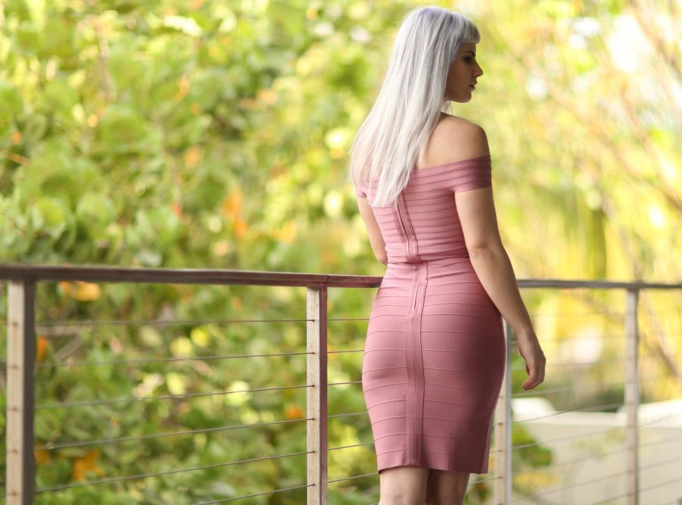 Pink Bandage Dress | Creation Despite