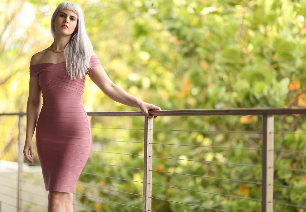 Amazon Pink Bodycon Dress | Creation Despite