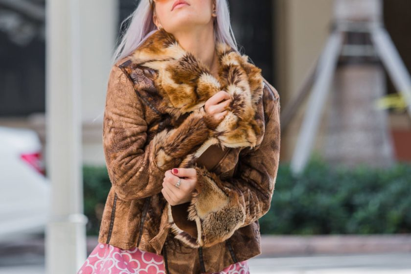 Repurposed Faux Fur Coat | Creation Despite