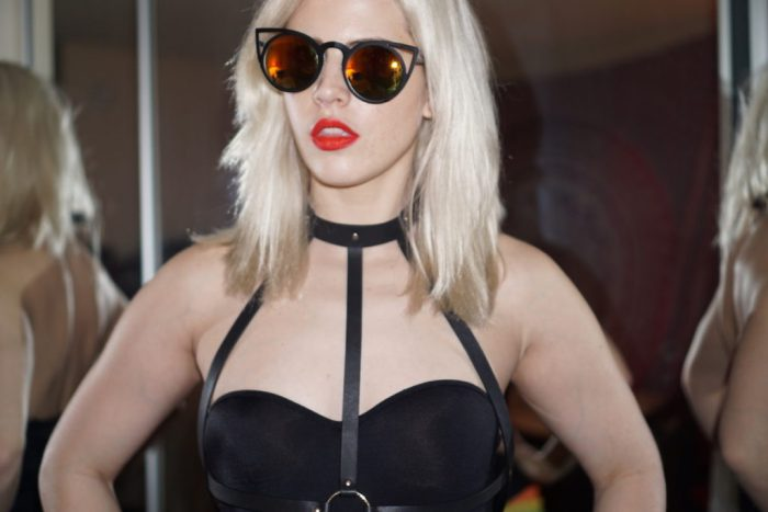 Black Leather Harness | Bijoux Indiscrets | Fashion Bloggers LA | Creation Despite