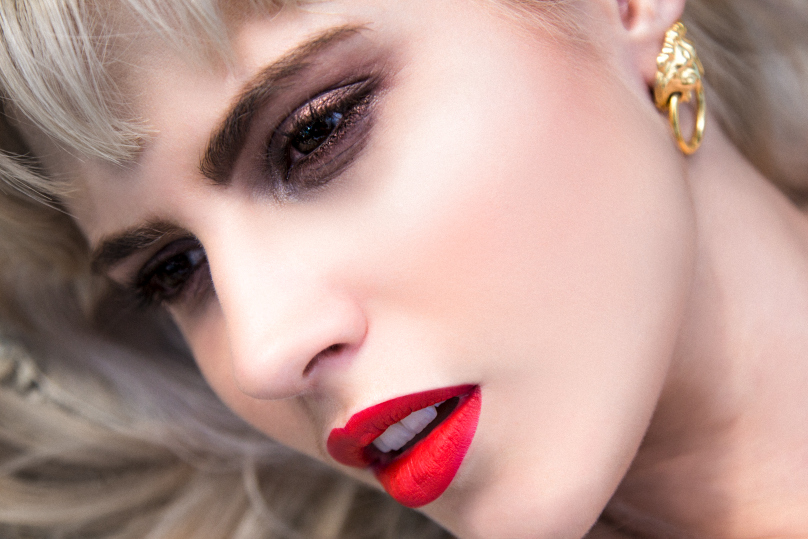 Fashion Editorial Makeup | Mick Ackland Fashion Photography | LA Beauty Bloggers