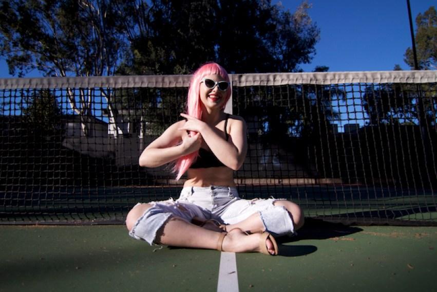 White Cat Eye Sunglasses | Fashion Inspiration | Los Angeles Blogger