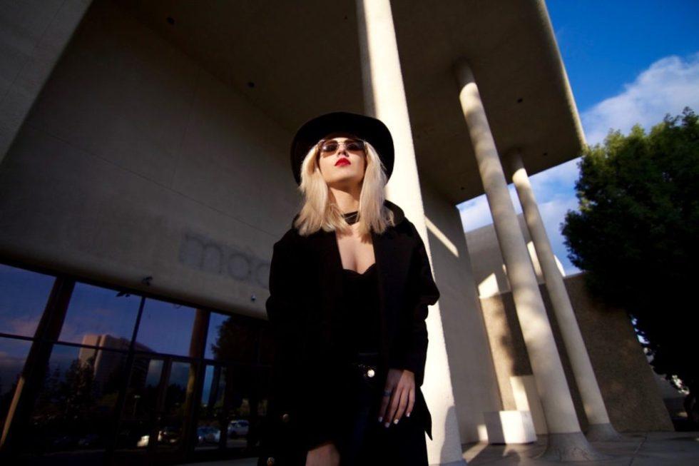 Black Hat - Wool Coat - Los Angeles Blogger (1)