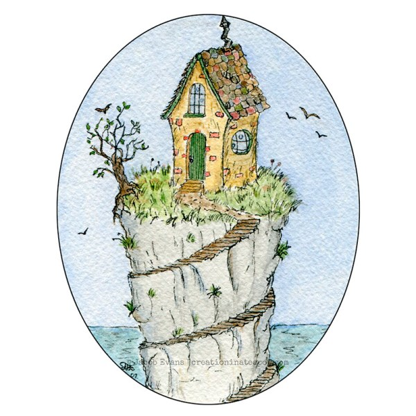 Little House on the Cliff