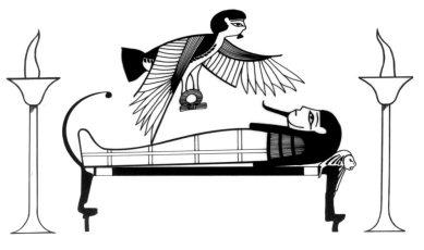 Phdon, the soul departs the body