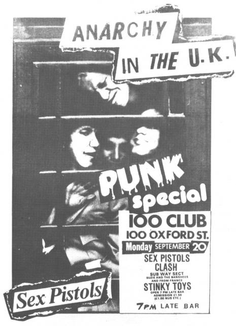 Image result for 100 club punk festival 1976