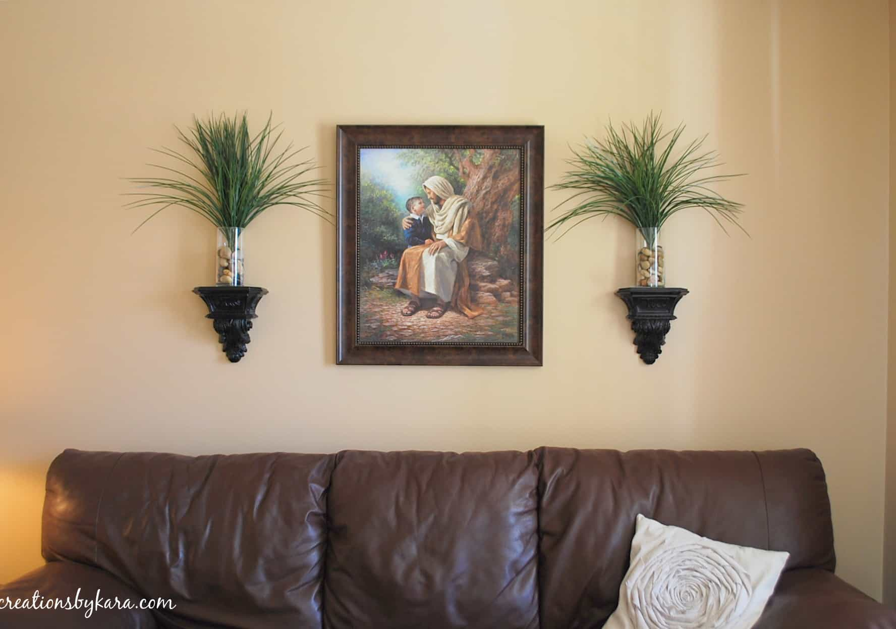 Living room decorating- shelves on Wall Decor For Living Room  id=45756