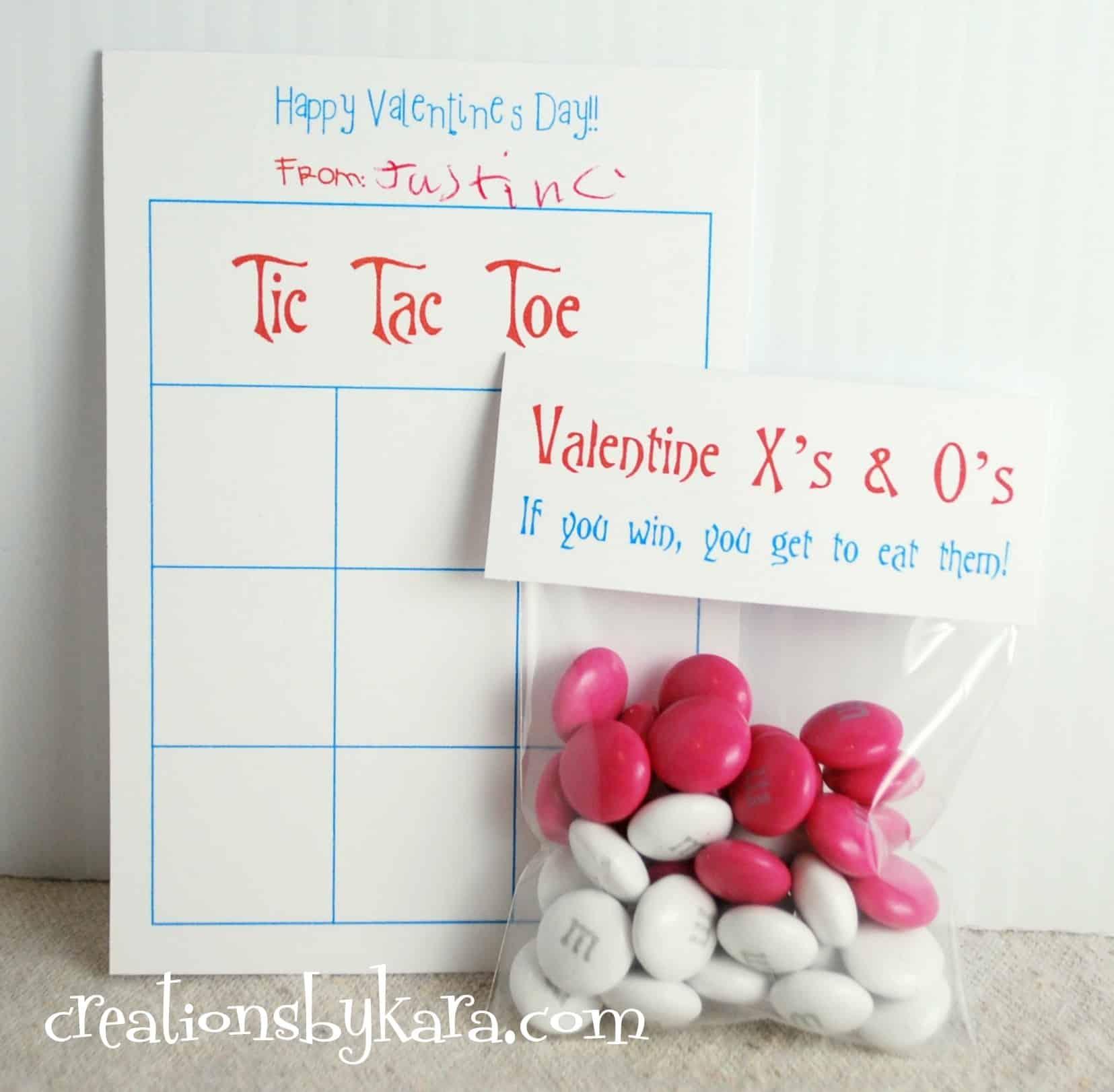 Valentine Printable Classroom Valentine Game
